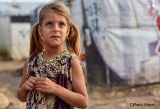 シリア難民の子ども