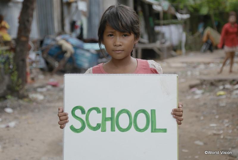 「学校に行きたい」とセバンちゃん