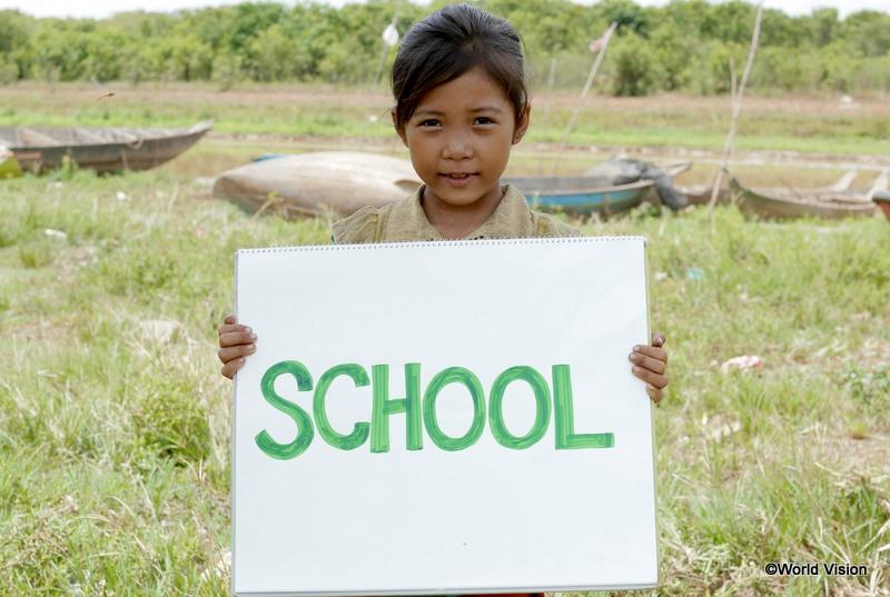 セニャンちゃんの夢は「学校に行くこと」
