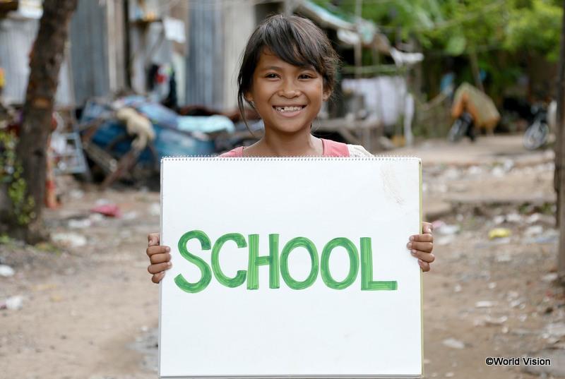 セバンちゃんの夢は「学校に行くこと」