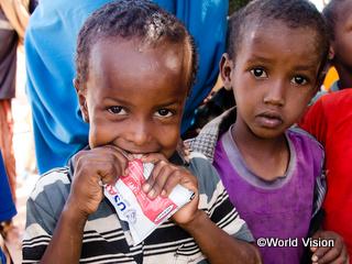 ソマリアの子どもたち