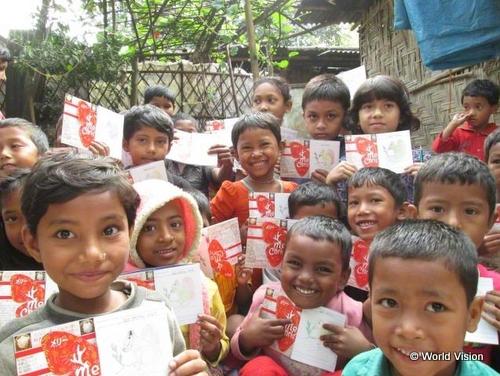 バングラデシュの子どもたち