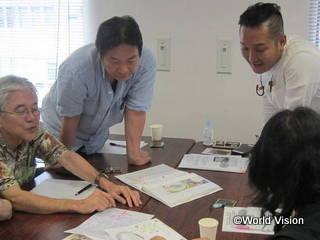 8月に開催された神奈川カフェでの交流会の様子