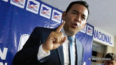 ジミー・モラレス グアテマラ大統領