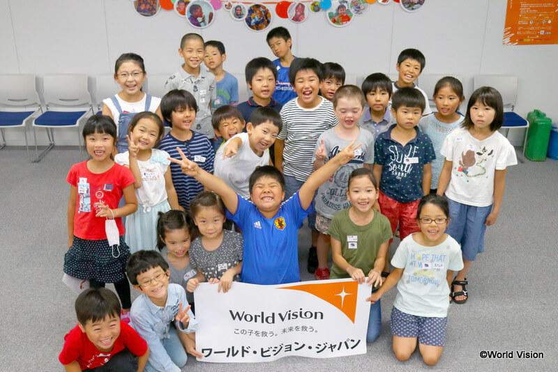 7月28日午後の部に参加した子どもたち