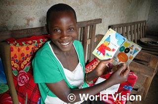 ウガンダの支援地の子どもたち