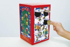 クリスマスまでを楽しくカウントダウンする「アドベントカレンダー募金箱」ワークショップでは世界に一つの募金箱を作ります
