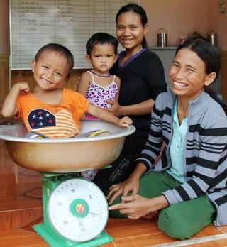 定期的な身体測定により栄養不良の子どもが10年前に比べて16%も減少(ベトナム)