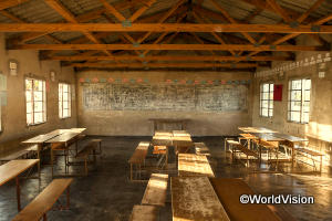 ボロボロの校舎