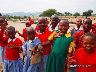 ケニアの子どもたち