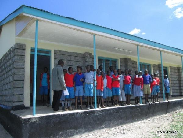建設された校舎