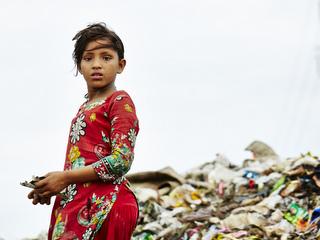 バングラデシュに住むモスミちゃん