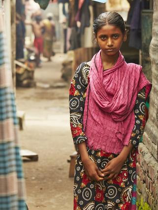 バングラデシュのミナちゃん