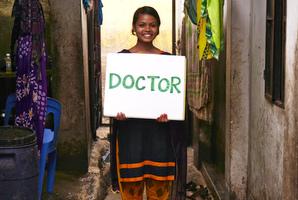 「その人が、いい人生をおくれるように、病気にならないように助けたい」ビティちゃんは優しい笑顔を見せてくれました