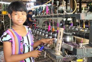 世界の子どもの願いごと:ミャンマー