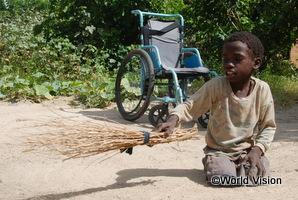 世界の子どもの願いごと:ザンビア