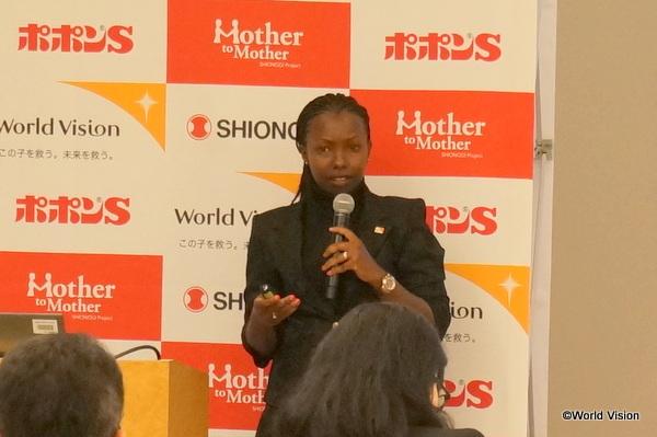 ワールド・ビジョン・ケニア 保健セクター アソシエート・ディレクター マーガレット・ジェンガ氏