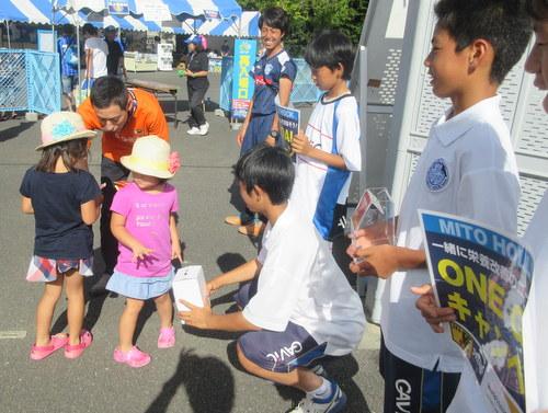 【ONE GOAL】J2水戸ホーリーホック、ベトナムの子どもたちを支援