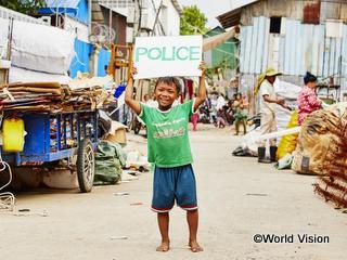 「警察官になりたい」というペアくん