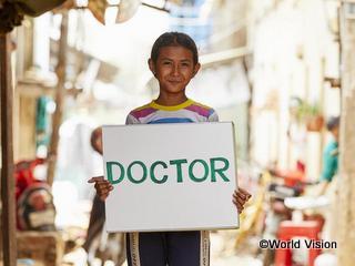 シナちゃん「お医者さんになりたい」