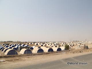 国内避難民キャンプ