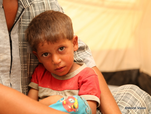 イラクの男の子