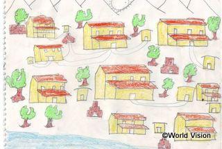 少年が描いた地震に強い理想の家
