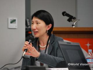 第二部のファシリテーターを務めた、WVJ東日本緊急復興支援部長 木内