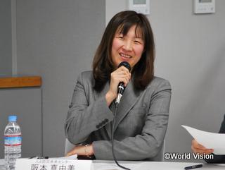 災害復興の専門的見地からコメントしてくださった、人と防災未来センターの坂本氏