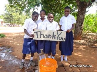 ンゲレンゲレ地域の小学生(現在の様子)