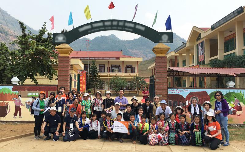 ベトナム支援地訪問ツアー
