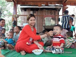 母乳と乳幼児の栄養に関するトレーニング(過去の事業より)