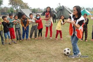 CFSで楽しそうに遊ぶ子どもたち