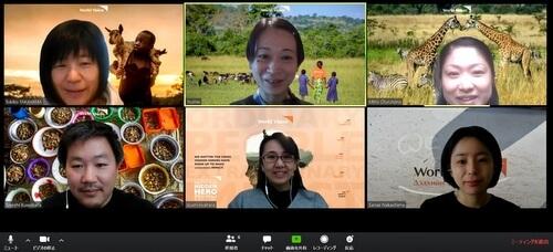 WVJのバーチャル背景をつかってビデオ会議