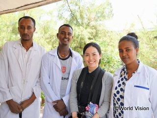 2016年からエチオピア支援に関わる木戸スタッフ