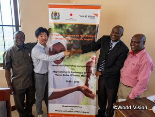 2020年1月からタンザニアに駐在する大沢スタッフ