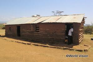 支援前の小学校の外観(キアムボゴコ地域)