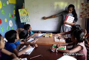 子どもクラブによる小学生の学習支援