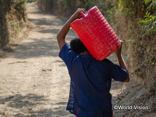 エルサルバドルでは安全な飲み水にアクセスできない子どもたちがまだまだたくさんいます